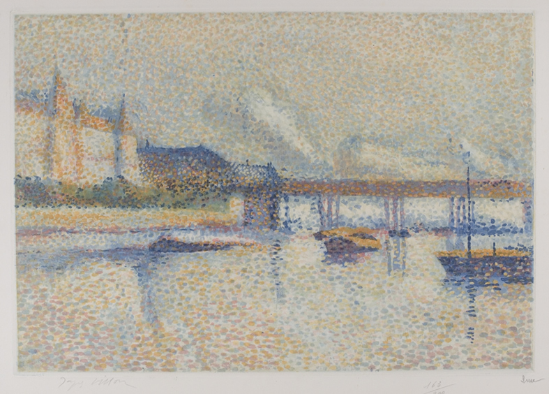 5506-Villon-LONDRES (AFTER MAXIMILLIEN LUCE)