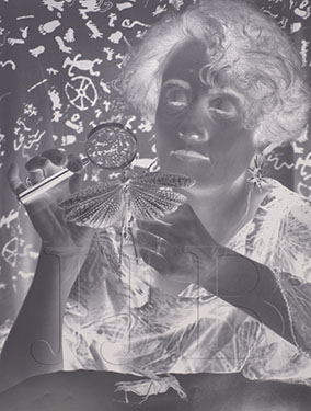 Barbara Jaffe - Woman With Dragonfly(Large)