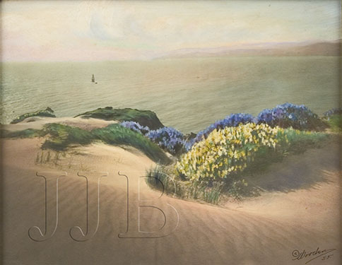 Willard Worden - Entrance to San Francisco Bay(Large)