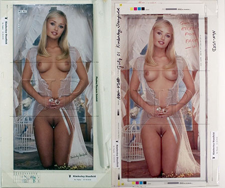 Richard Fegley  - Kimberly Stanfield Playboy Gatefold(Large)