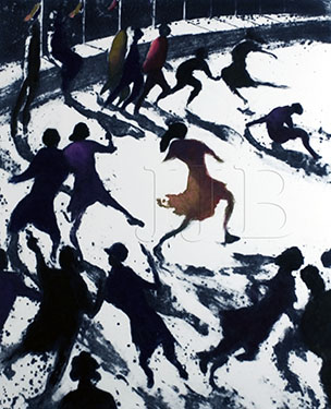 Bill Jacklin - The Rink I(Large)