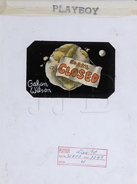 Gahan Wilson  - Sorry Closed(Large)