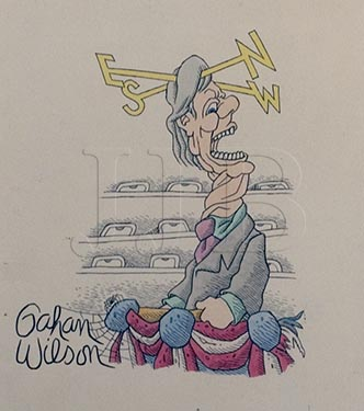 Gahan Wilson  - To A Political Cadidate(Large)