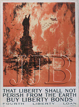 Joseph Pennell - That Liberty Shall Not Perish....(Large)